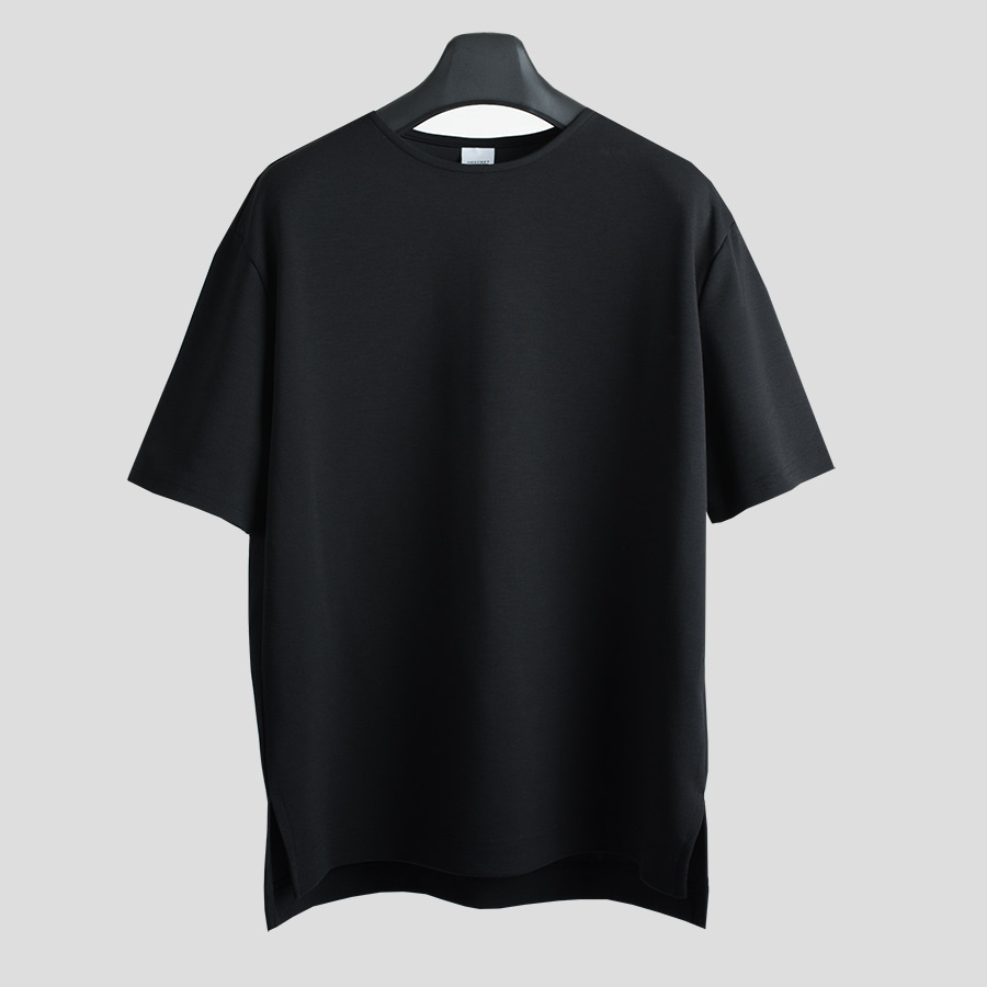 PERFECT TENDER SKIN TEE - BLACK -
