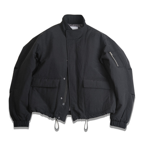 Nylon short blouson  MA-1.
